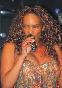 Pam Hawkins, the south bay powerhouse soul singer retains her diva crown