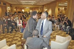 Sharpton-WestShowdown Becomes Dignified Debate